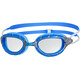 Zoggs Predator Goggle Silver/Blue/Clear